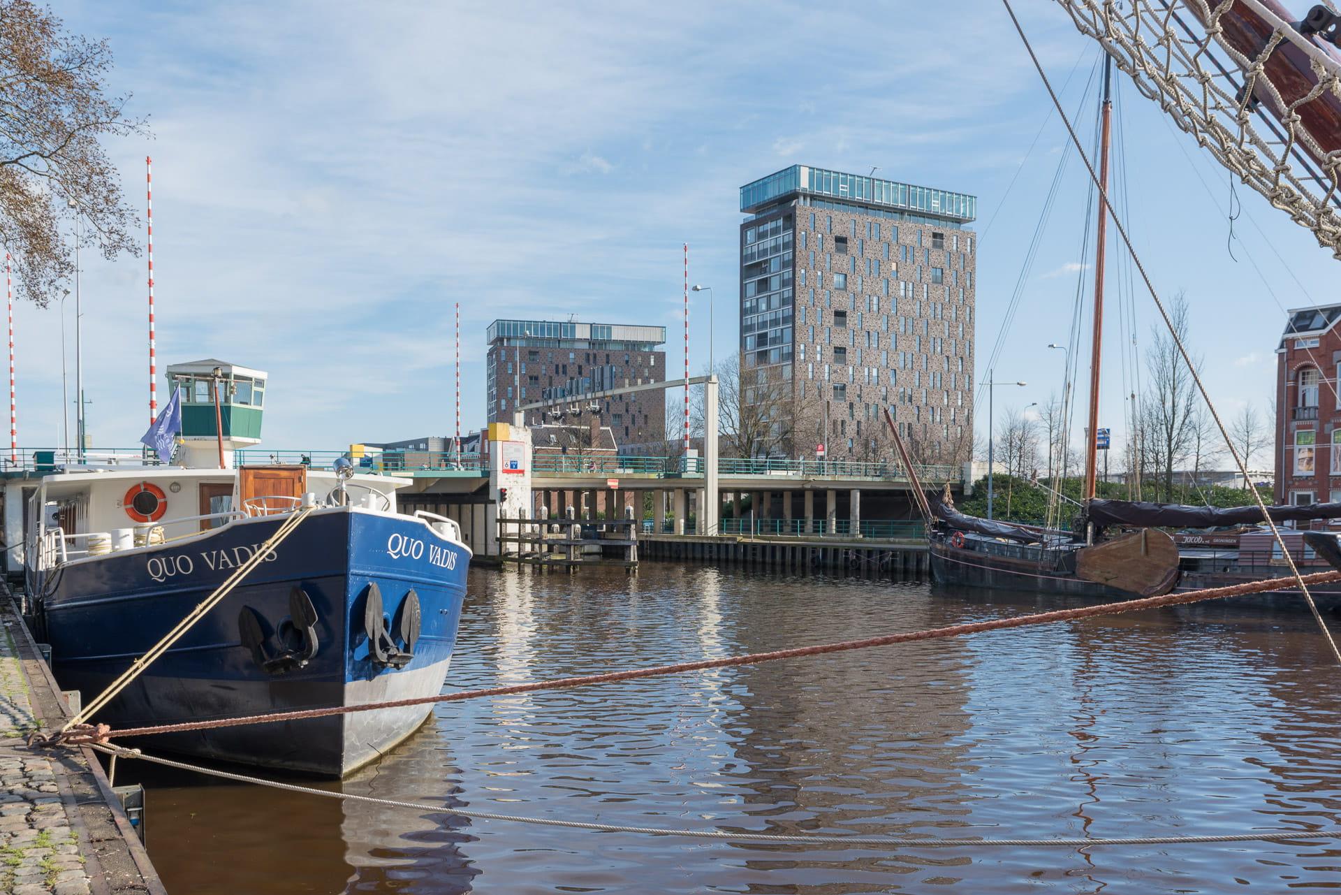 Kop van Oost Groningen header twee torens