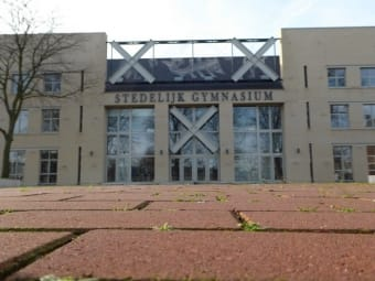 Nieuwbouw school stedelijk gymnasium Breda