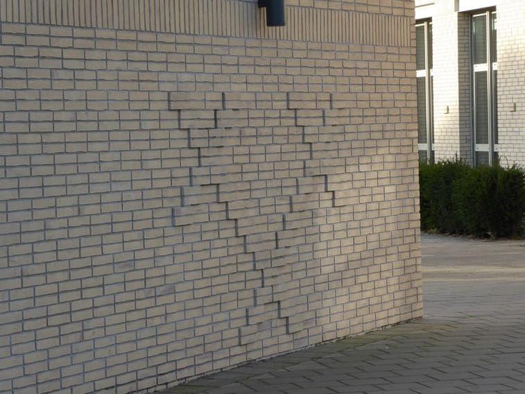 Uitstekend metselwerk bij stedelijk gymnasium Breda