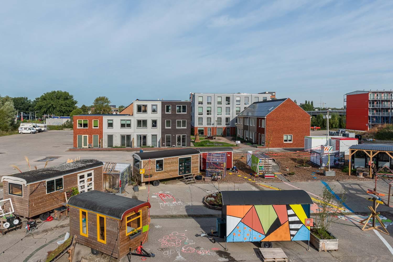 Overzichtsfoto van Loskade in Groningen