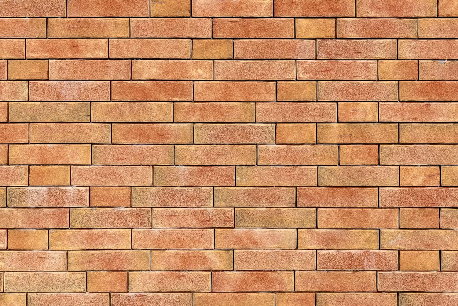 Close-up van een muur met steenstrips