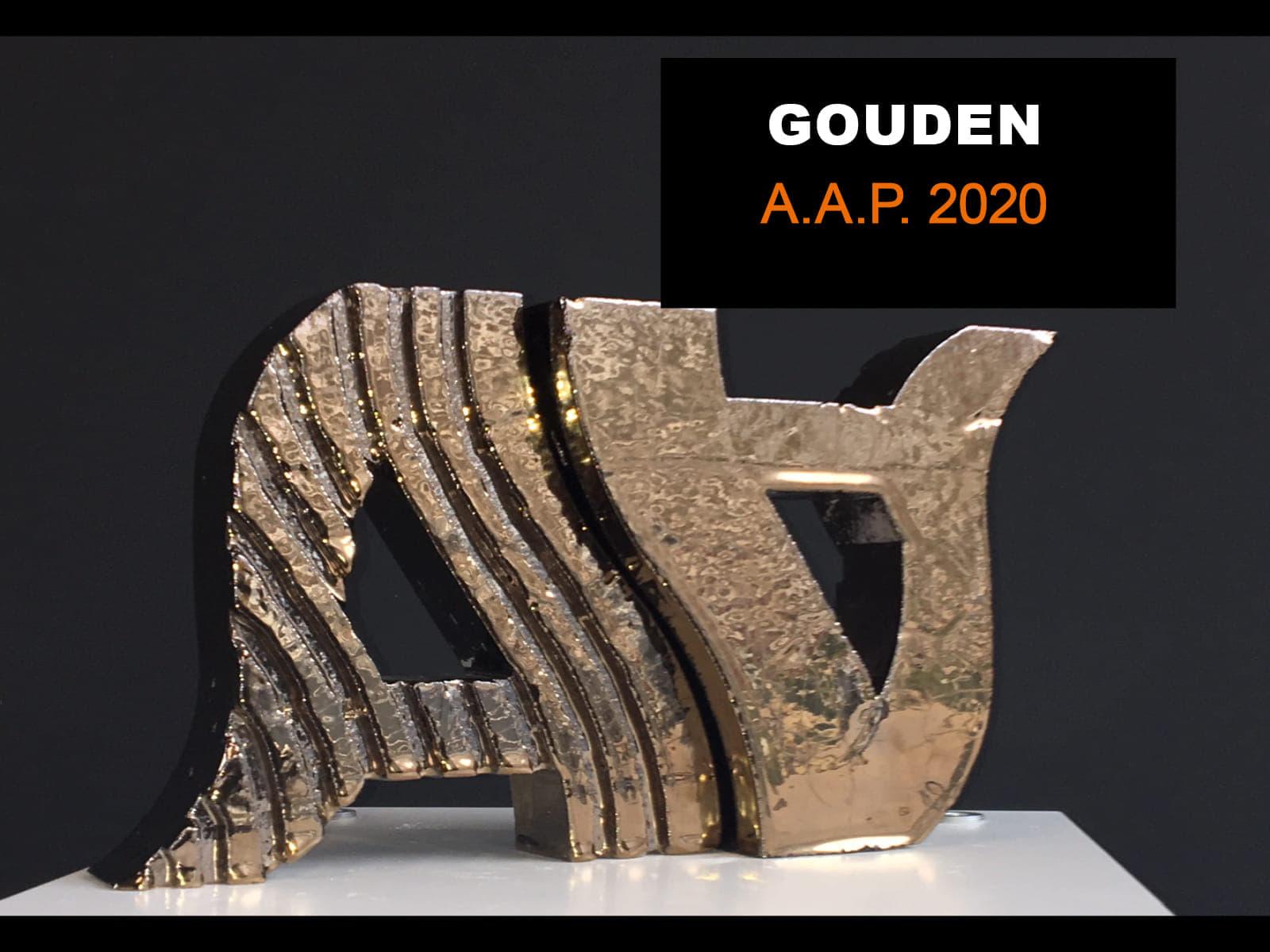 Gouden Awards in de vorm van twee A's voor de Amsterdamse Architectuurprijs 2020