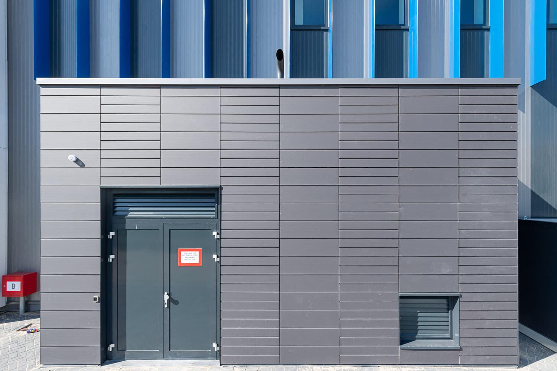 De grijze tegels van Argeton in een uitbouw
