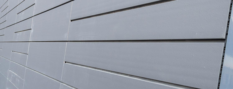 Keramische tegels van Argeton dichtbij in grijs