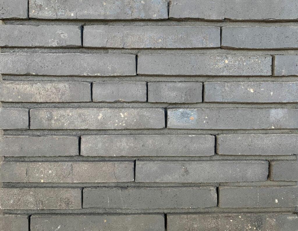 Stootvoegloos hilversums formaat met effect van langformaat gevelsteen