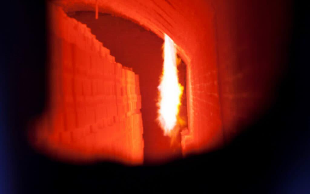 Vuur in de vlamoven in Bemmel